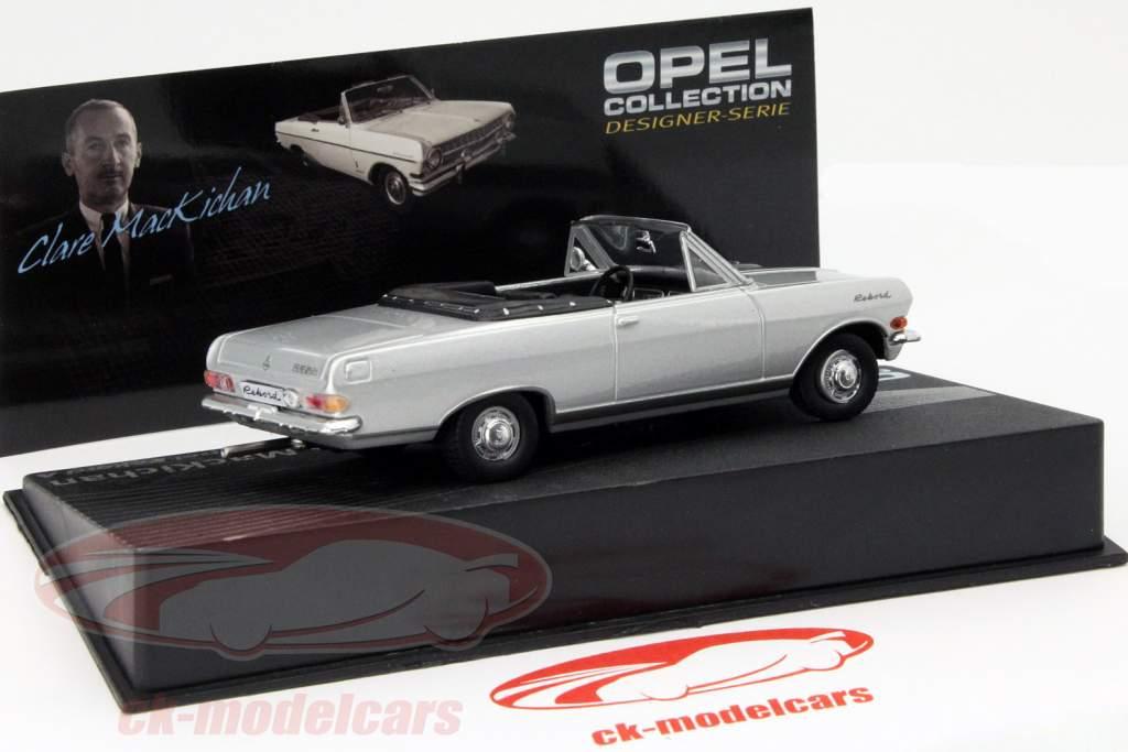 Opel Rekord A Clare MacKichan silver 1:43 Altaya