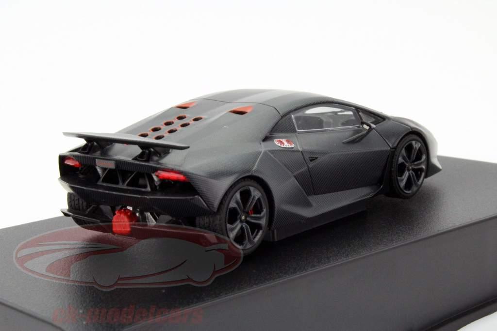 Autoart 1 43 Lamborghini Sesto Elemento Year 2010 Carbon Grey