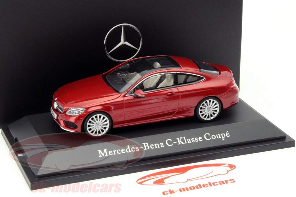 Mercedes-Benz C-Klasse Coupe C205 Giacinto rosso 1:43 Kyosho MB