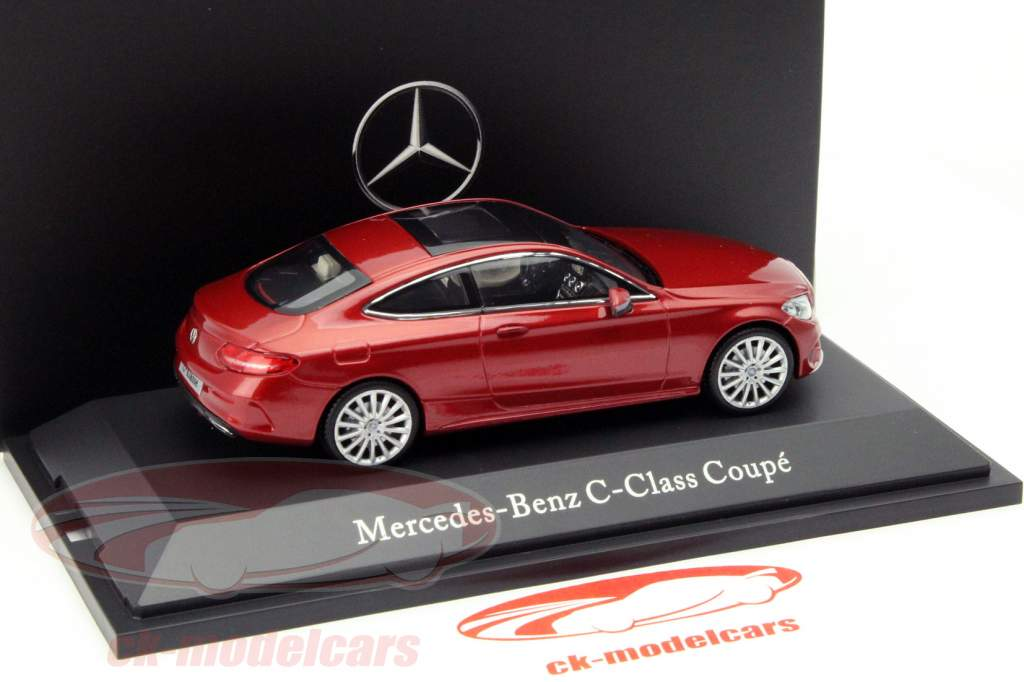 Mercedes-Benz C-Klasse Coupe C205 Hyacinth red 1:43 Kyosho MB