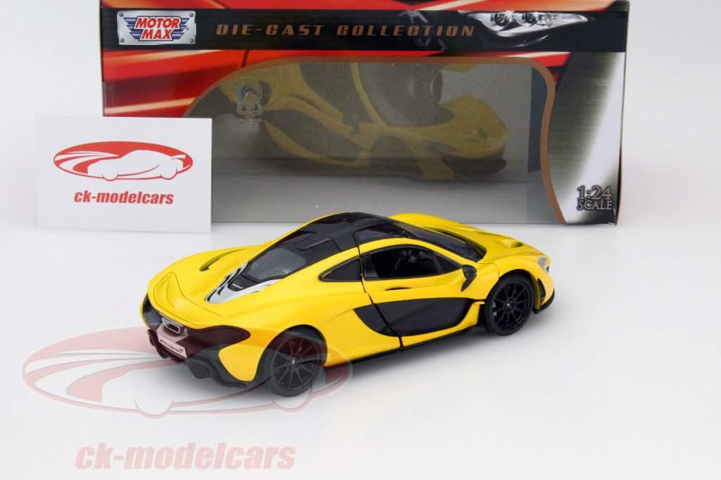 McLaren P1 giallo 1:24 MotorMax