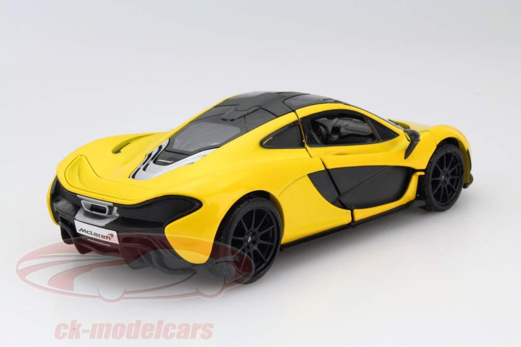McLaren P1 amarillo 1:24 MotorMax