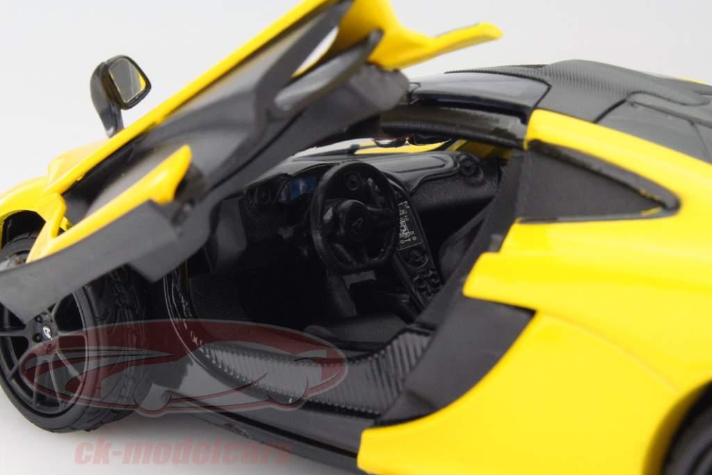 McLaren P1 geel 1:24 MotorMax