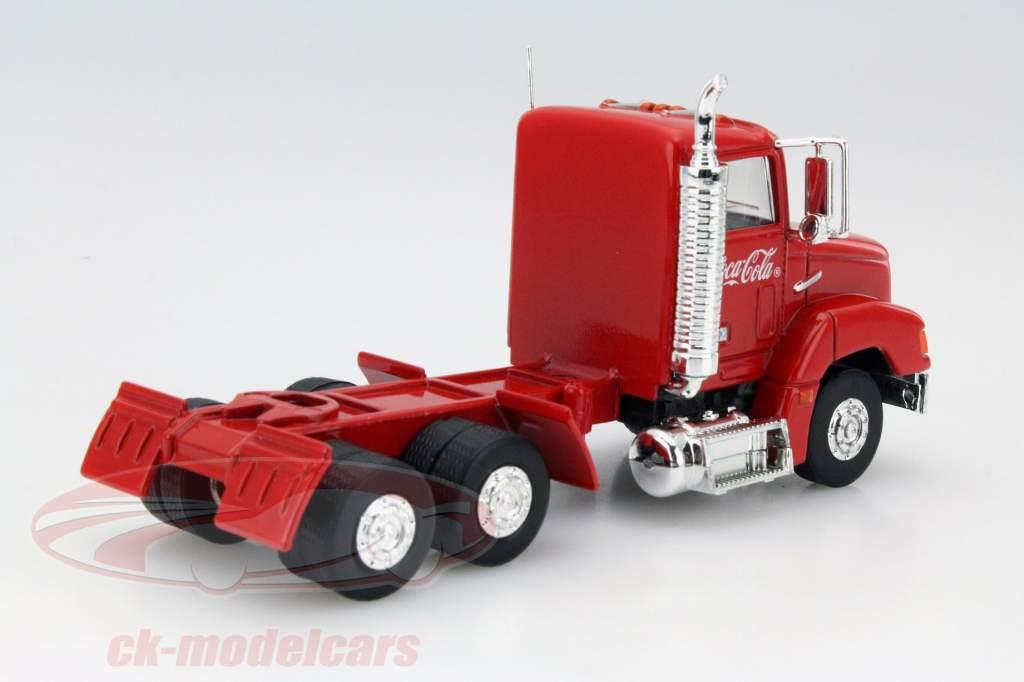Camion de Noël Coca-Cola avec LED rouge 1:43 Motorcity