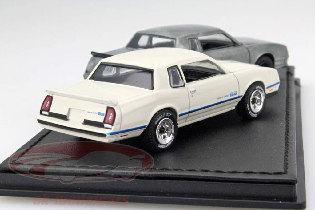 Chevrolet Monte Carlo SS Jaar 1981-84 polijsten / zilverwerk 1:64 Greenlight
