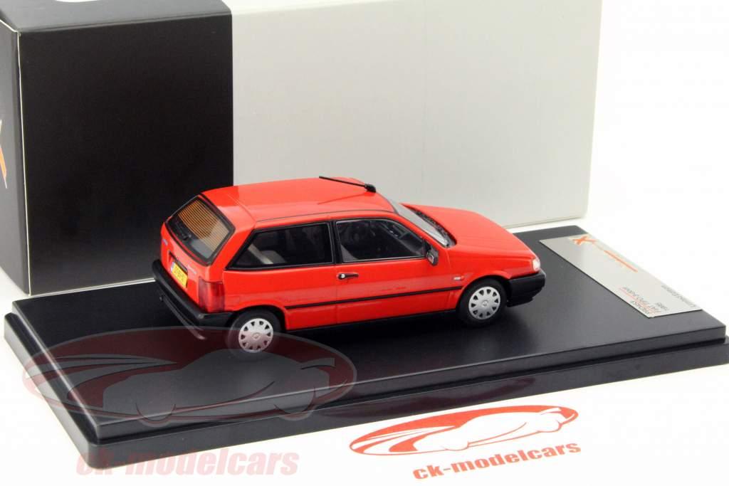 Fiat Tipo 3-deurs jaar 1995 rood 1:43 Premium X