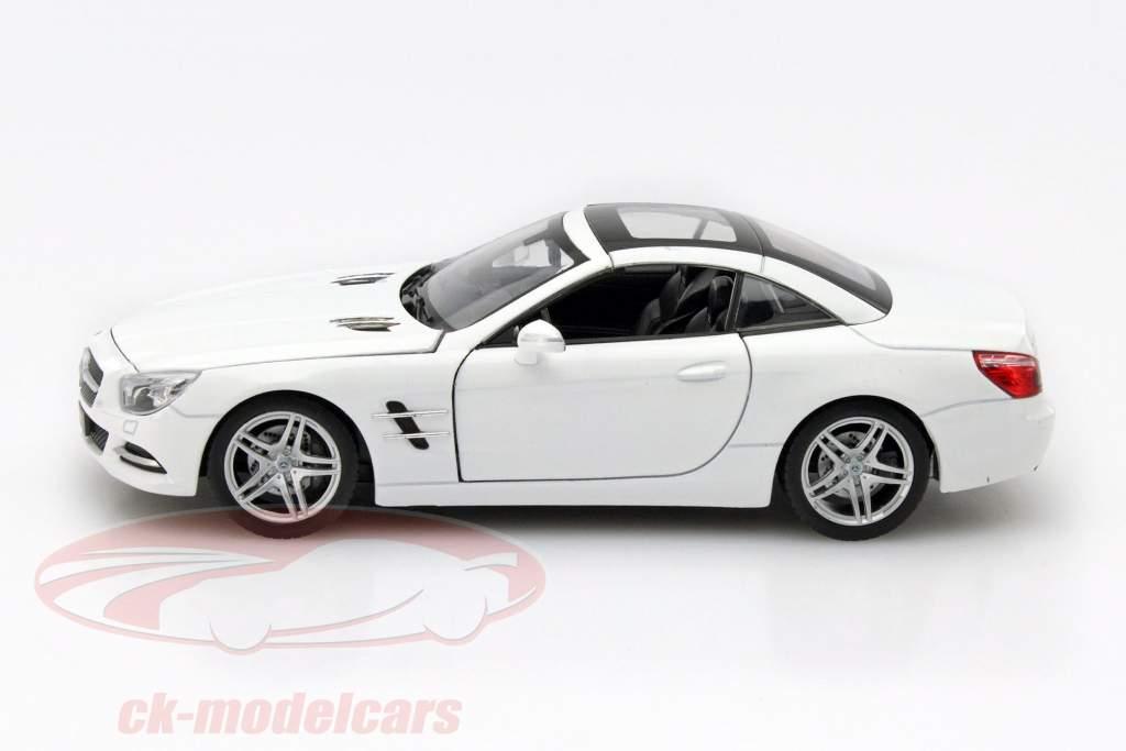 Mercedes-Benz SL 500 anno 2012 bianco 1:24 Welly