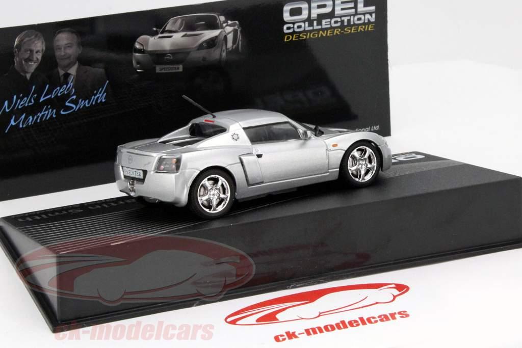 Opel Speedster argent Niels Loeb, Martin Smith 1:43 Altaya