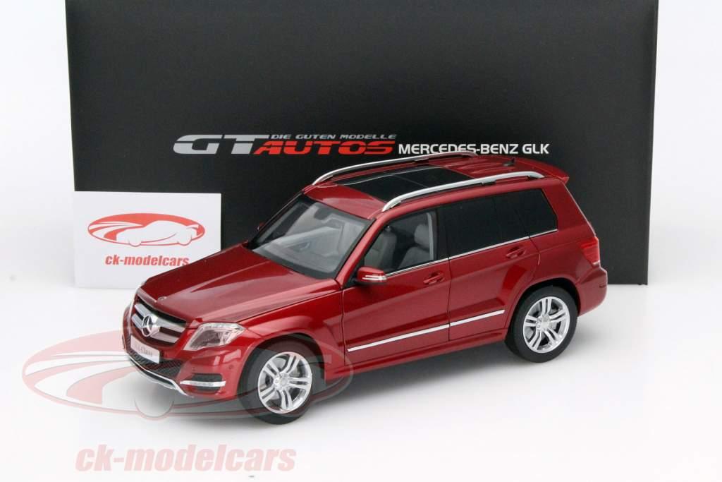 Mercedes-Benz GLK Baujahr 2013 rot 1:18 Welly GTA