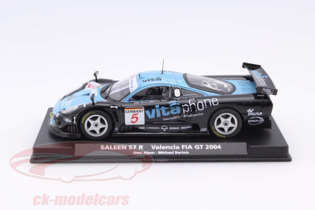 Saleen S7-R #5 Valencia FIA GT 2004 Alzen, Bartels 1:43 Fly Car Model