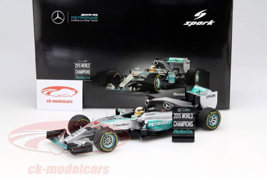 Spark 1 18 L. Hamilton Mercedes F1 W06 Hybrid  44 World Champion USA GP F1  2015 18S179 model car 9580006471796 ccc479f5dcf