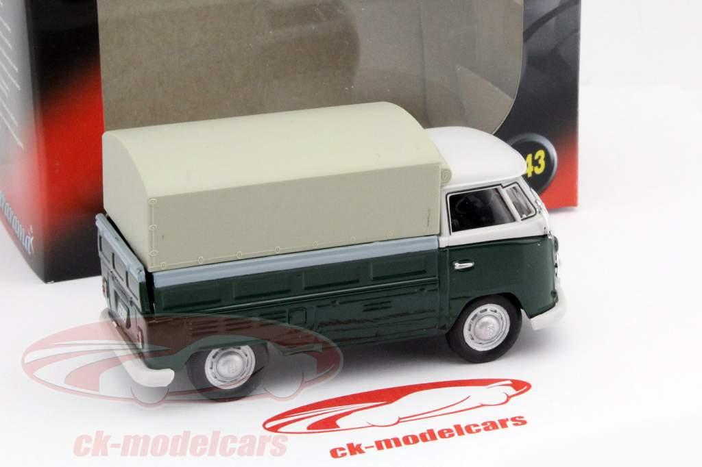 Volkswagen VW T1 Pick Up grøn 1:43 Cararama