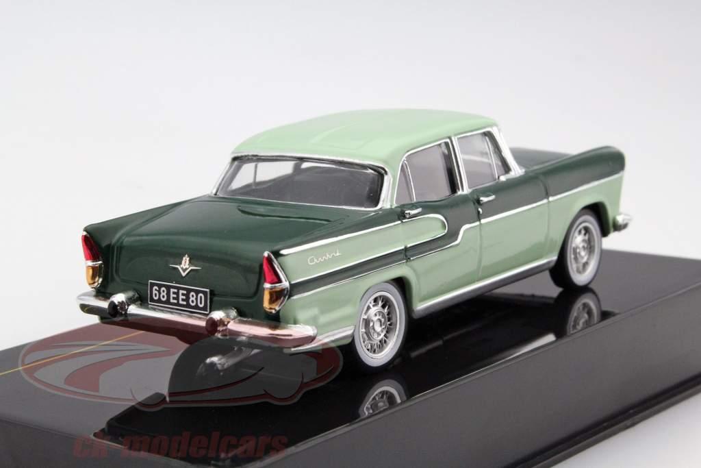 Simca Chambord ano 1958 verde escuro / cal 1:43 Ixo