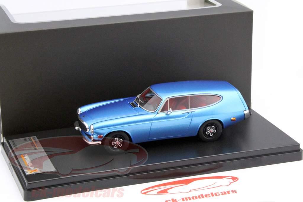 Volvo P1800 ES Rocket år 1968 blå 1:43 Premium X