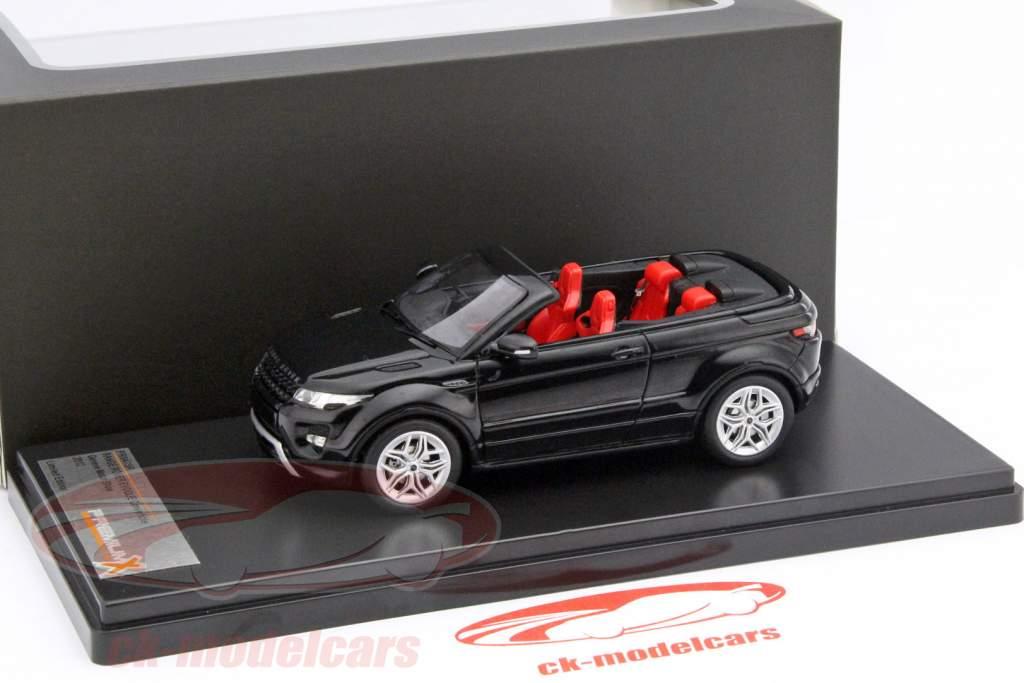 Range Rover Evoque Convertible motore spettacolo Ginevra 2012 nero 1:43 Premium X