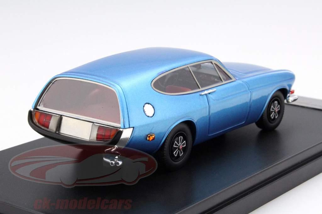 Volvo P1800 ES Rocket jaar 1968 blauw 1:43 Premium X