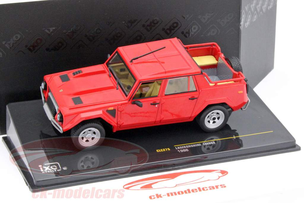 Lamborghini LM002 år 1986 rød 1:43 Ixo
