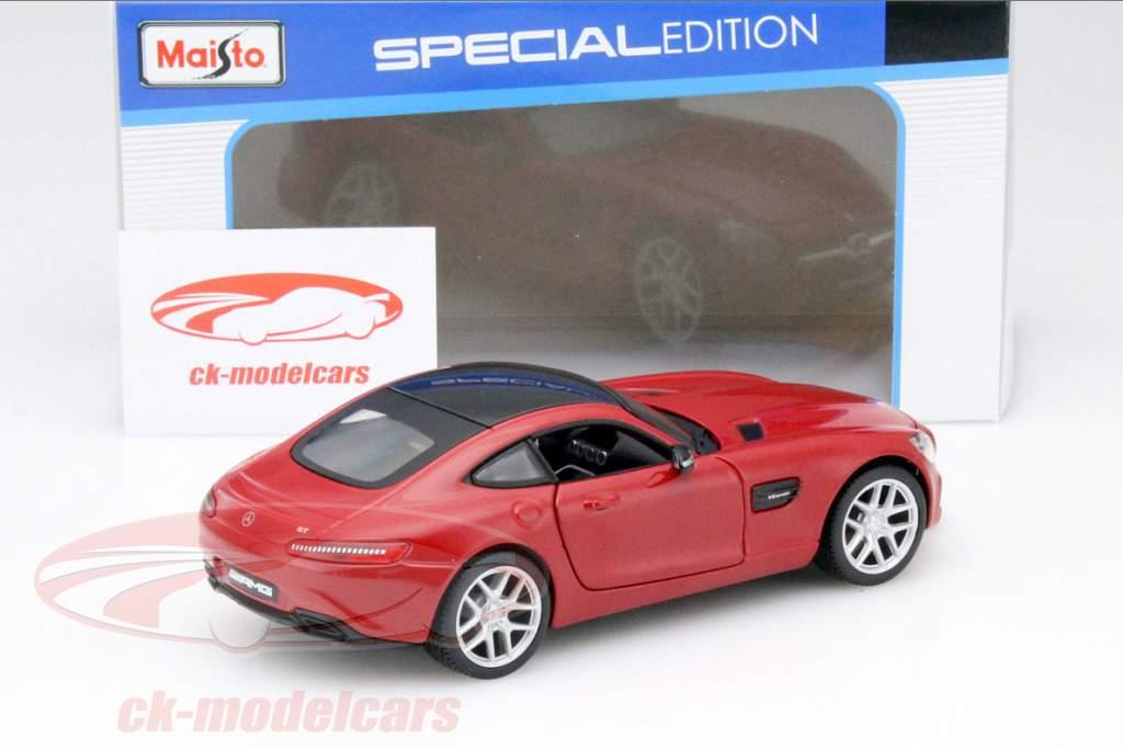 Mercedes-Benz AMG GT rood 1:24 Maisto