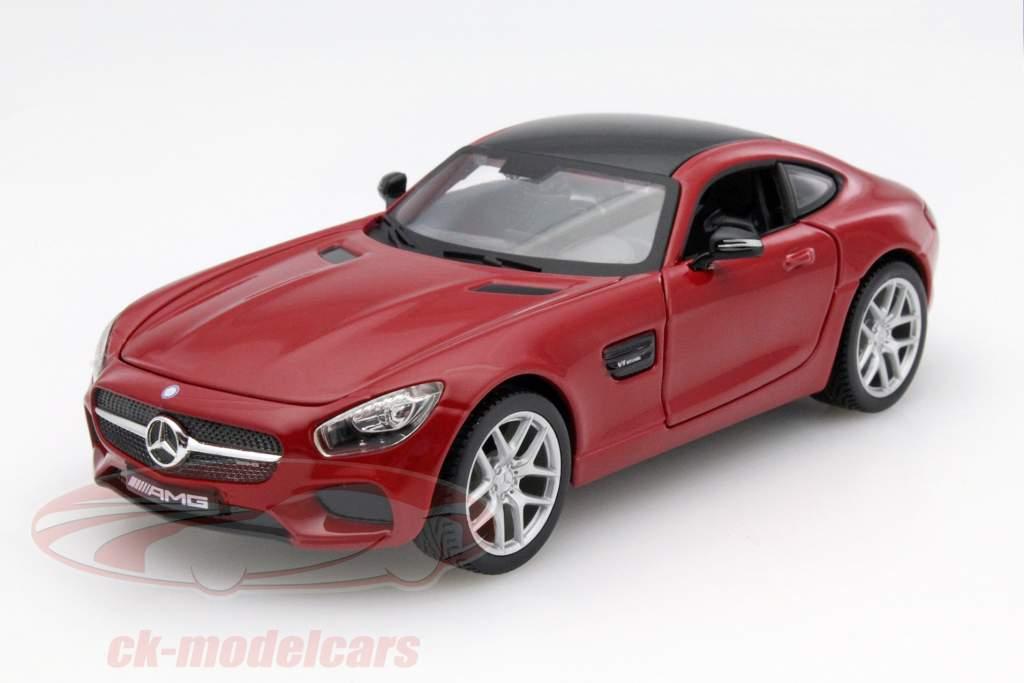 Mercedes-Benz AMG GT rød 1:24 Maisto