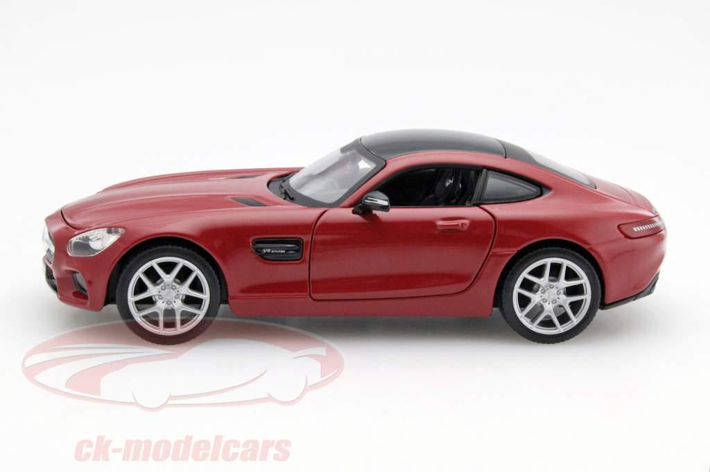 Mercedes-Benz AMG GT rouge 1:24 Maisto
