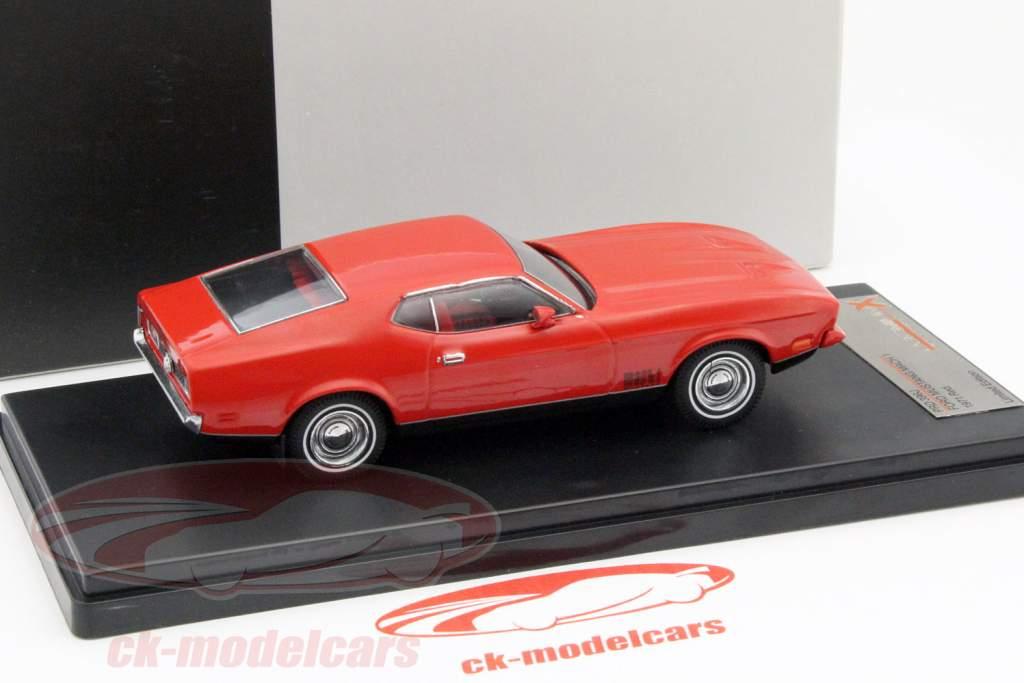 Ford Mustang Mach 1 Opførselsår 1971 rød 1:43 PremiumX