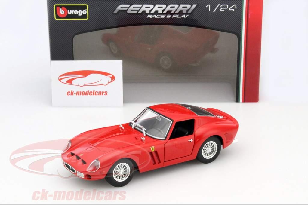 Ferrari 250 GTO Year 1962 red 1:24 Bburago