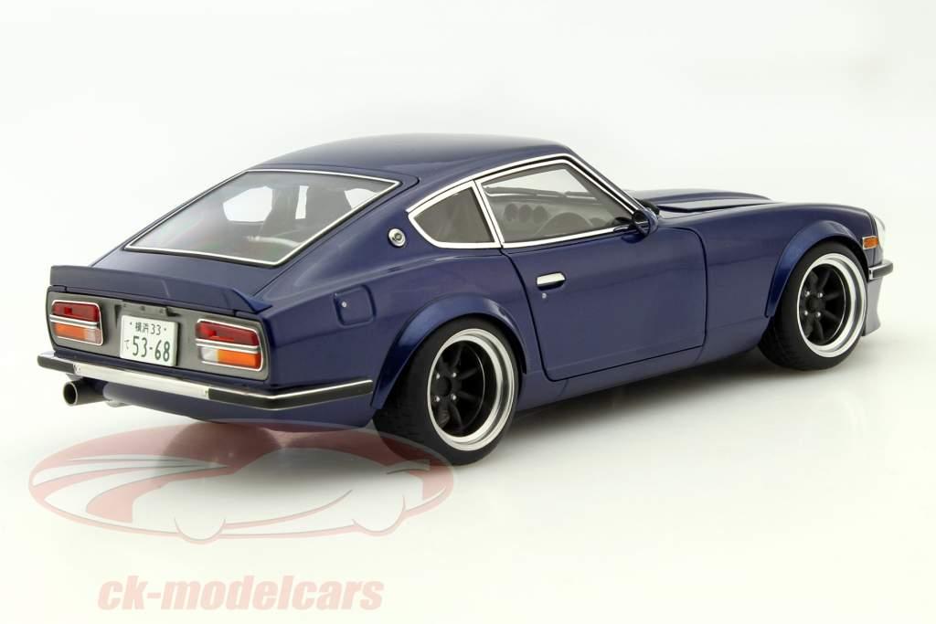 Nissan Fairlady Z >> Autoart 1 18 Nissan Fairlady Z S30 Wangan Midnight Devil Z Dark Blue