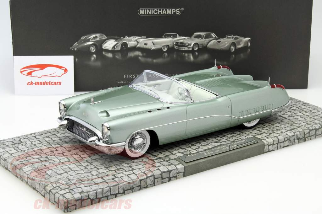 Minichamps 1 18 Buick Wildcat I Concept Car Year 1953 Green Metallic