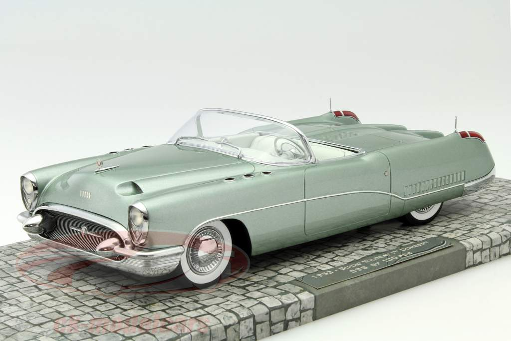 Minichamps 1 18 Buick Wildcat I Concept Car Year 1953 Green Metallic