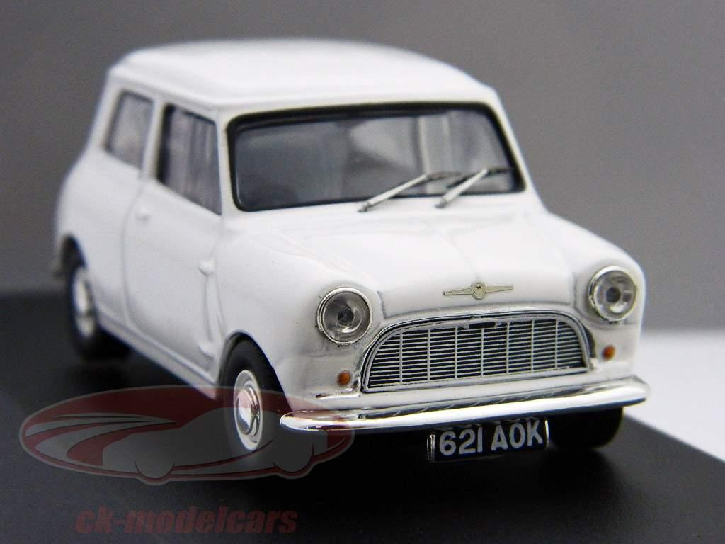 "Morris Mini Minor 1959 bianca ""First Mini to be badged Morris"" 1:43 Ixo"