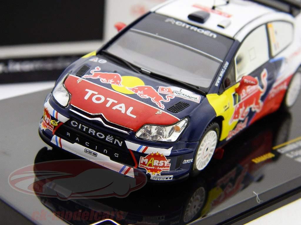 Citroen C4 WRC #7 Ogier Ingrassia Ganador del Rally de Portugal 2010 una y cuarenta y tres Ixo