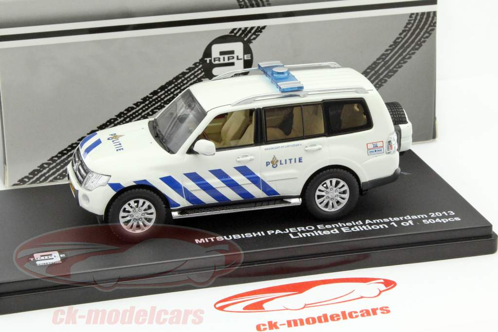 BoS-Models Mitsubishi Pajero #87496 2003-1:87 Polizei