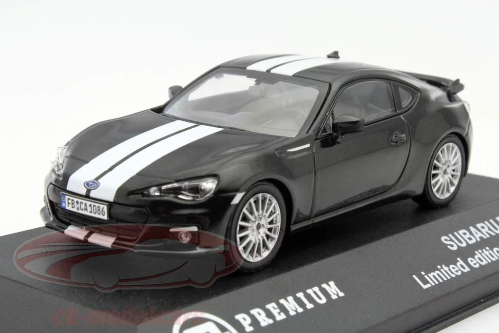 Subaru BRZ année 2013 noir / blanc 1:43 Triple 9