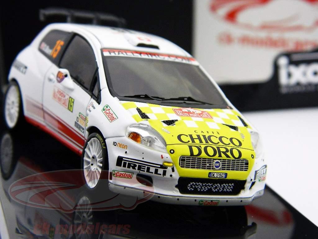 Fiat Grande Punto S2000 #15 Burri, Gordon Monte Carlo Rally uno y cuarenta y tres Ixo