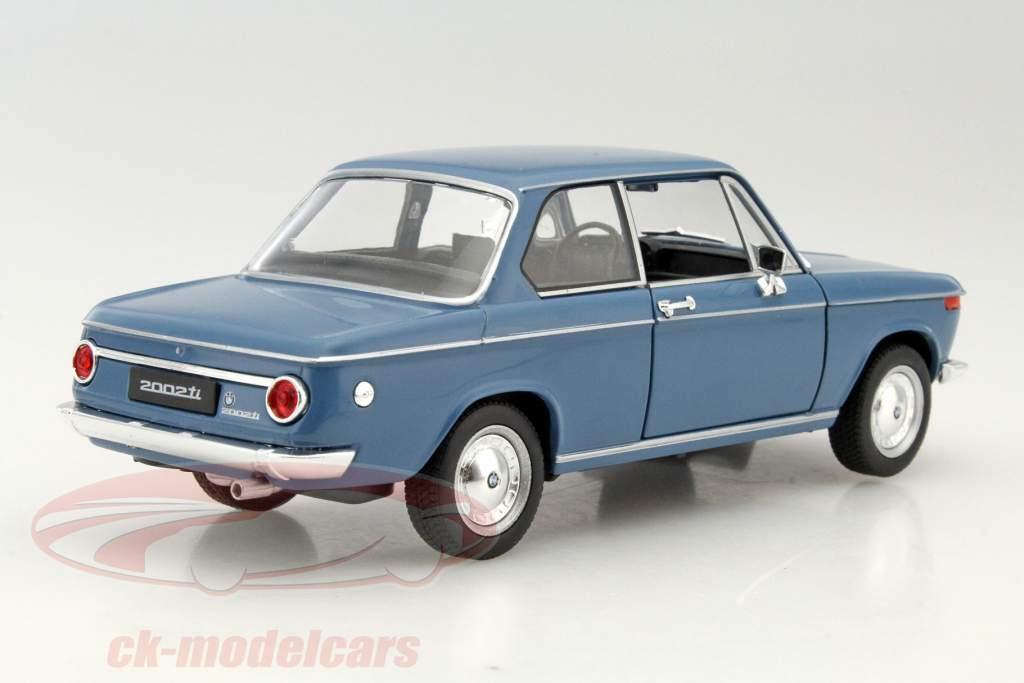 Welly 1 24 Bmw 2002ti Blue 24053b Model Car 24053b 4891761240530