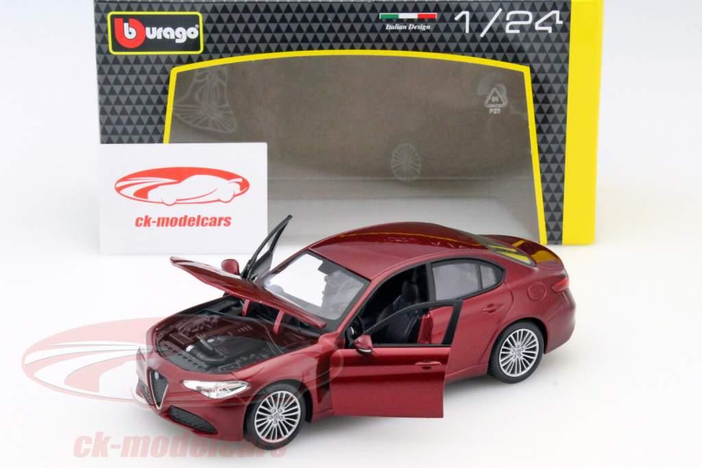 Alfa Romeo Giulia rot 1:24 Bburago
