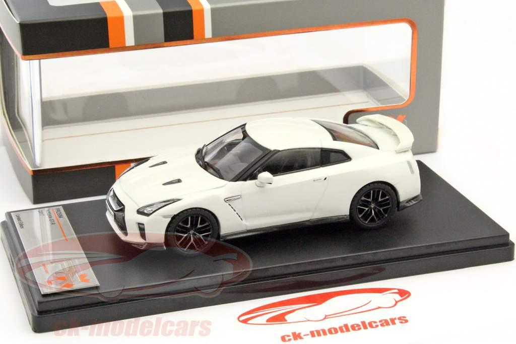Nissan GT-R ano 2017 branco 1:43 Premium X