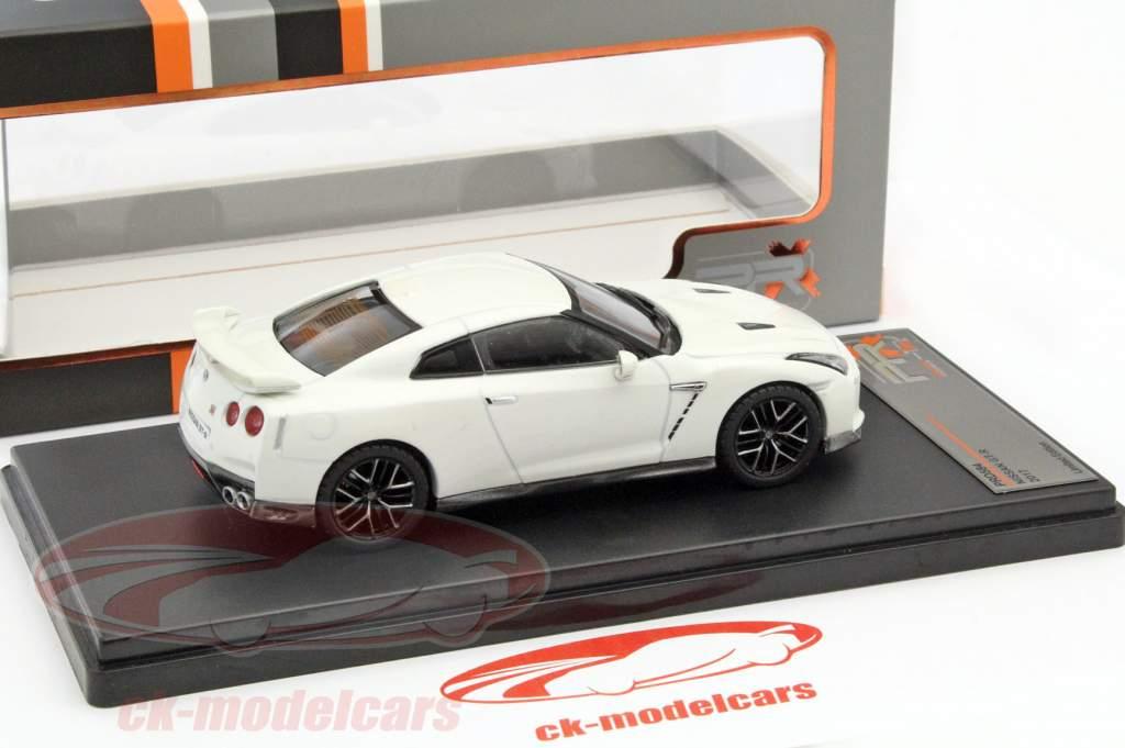 Nissan GT-R år 2017 hvid 1:43 Premium X