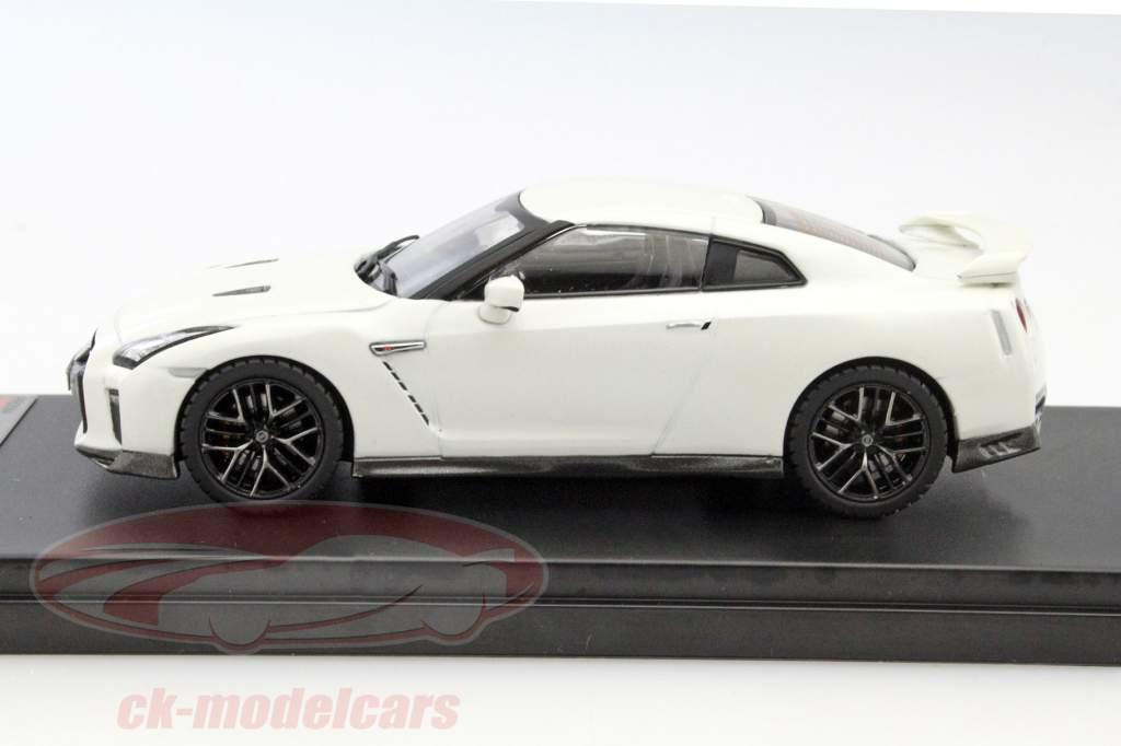 Nissan GT-R año 2017 blanco 1:43 Premium X