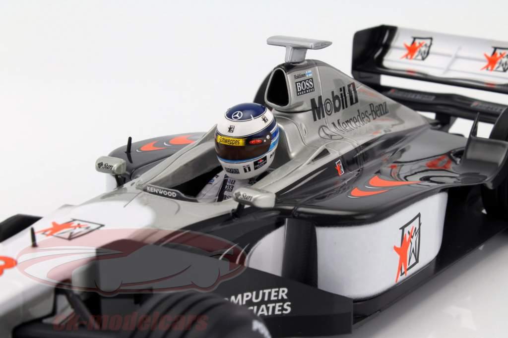 Mika Häkkinen McLaren MP4/13 #8 verdensmester formel 1 1998 1:18 Minichamps