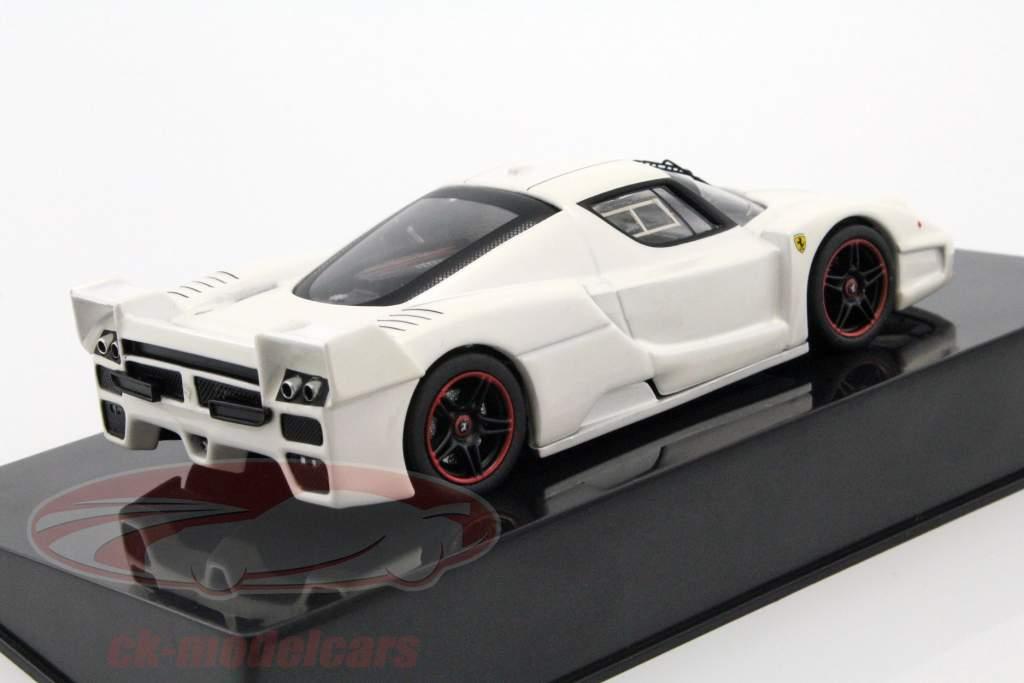Ferrari FXX white 1:43 HotWheels Elite