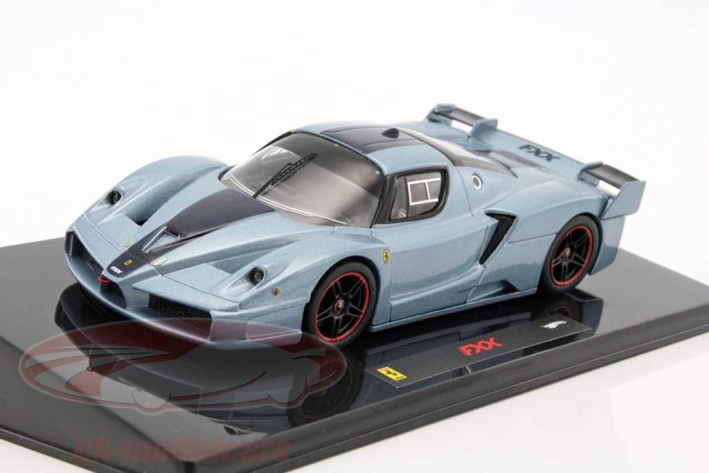 Ferrari FXX blå 1:43 HotWheels Elite