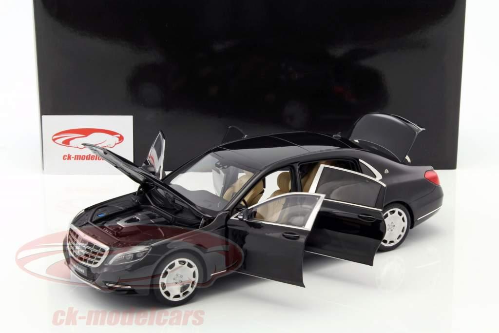 Mercedes-Benz Maybach S-Class (S600) SWB année de construction 2015 noir 1:18 AUTOart