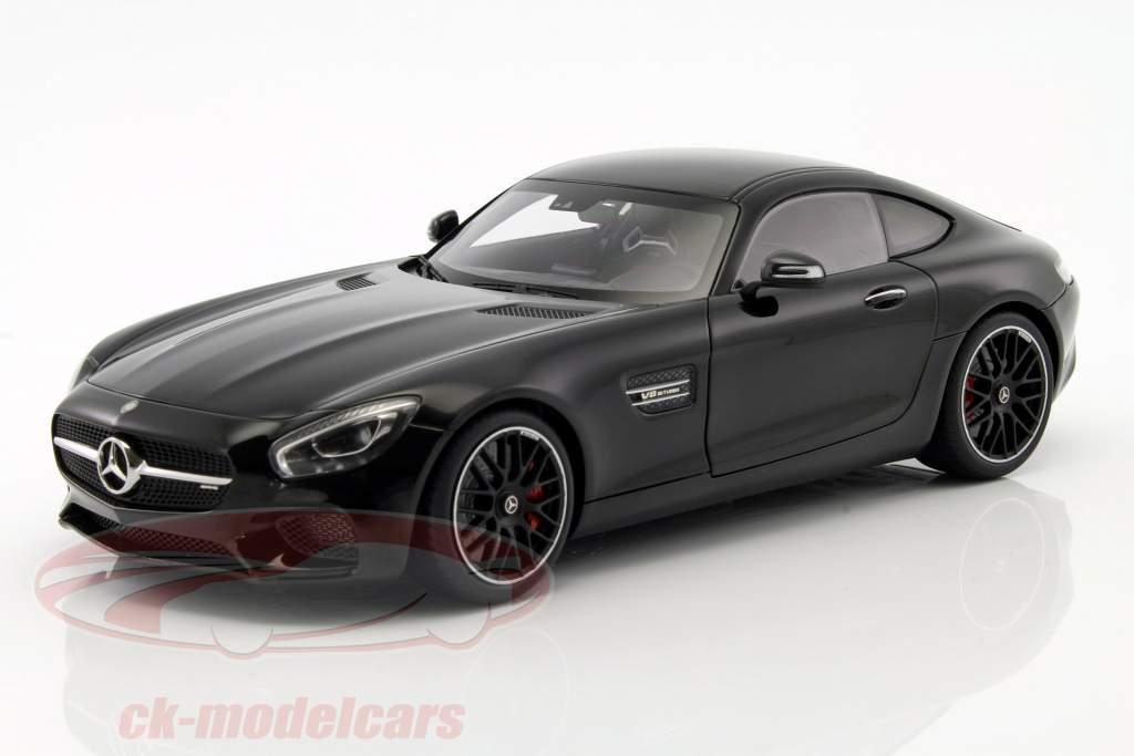 Mercedes-Benz AMG GT S Baujahr 2015 schwarz 1:18 AUTOart