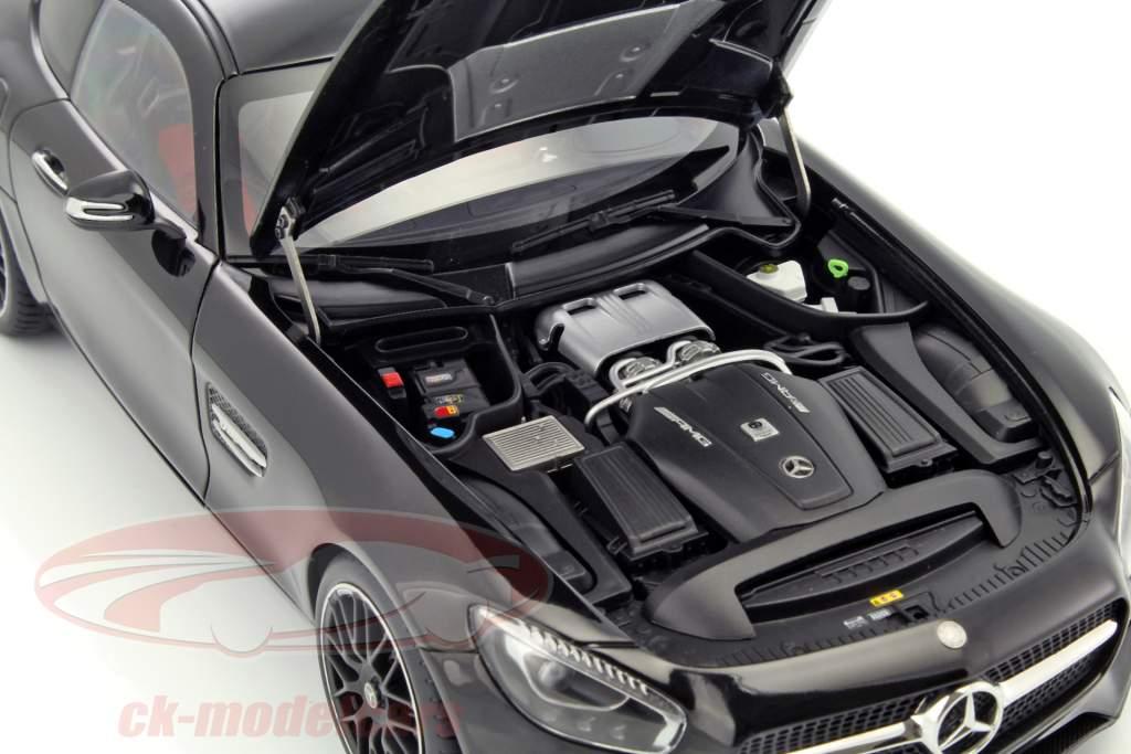 Mercedes-Benz AMG GT S year 2015 black 1:18 AUTOart