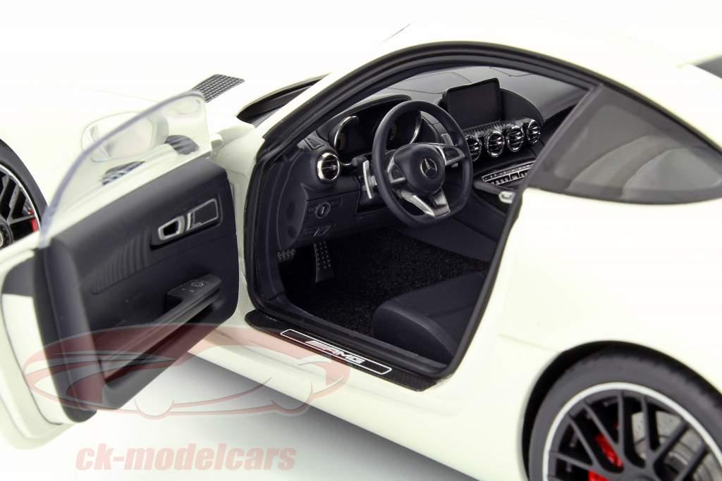 Mercedes-Benz AMG GT S Opførselsår 2015 hvid 1:18 AUTOart