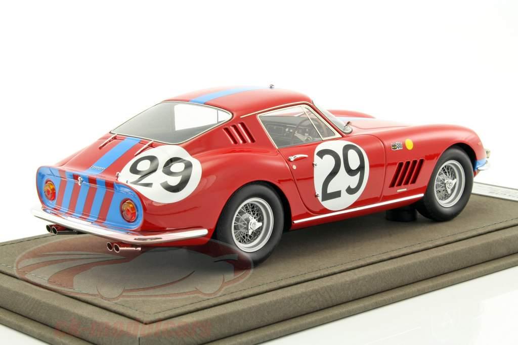 Ferrari 275 GTB #29 24h LeMans 1966 Courage, Pike 1:18 BBR