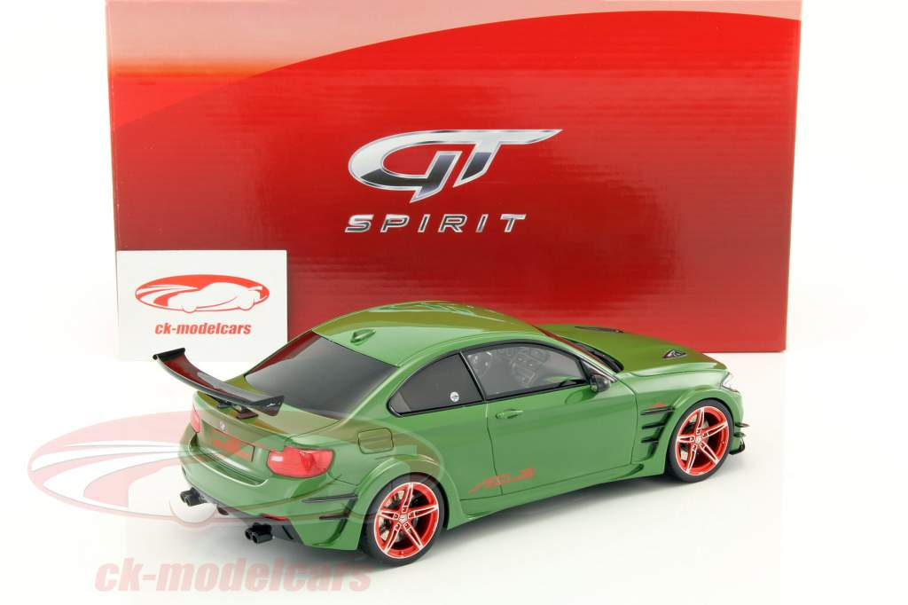BMW M 235i AC Schnitzer ACL2 Coupe year 2015 green 1:18 GT-SPIRIT