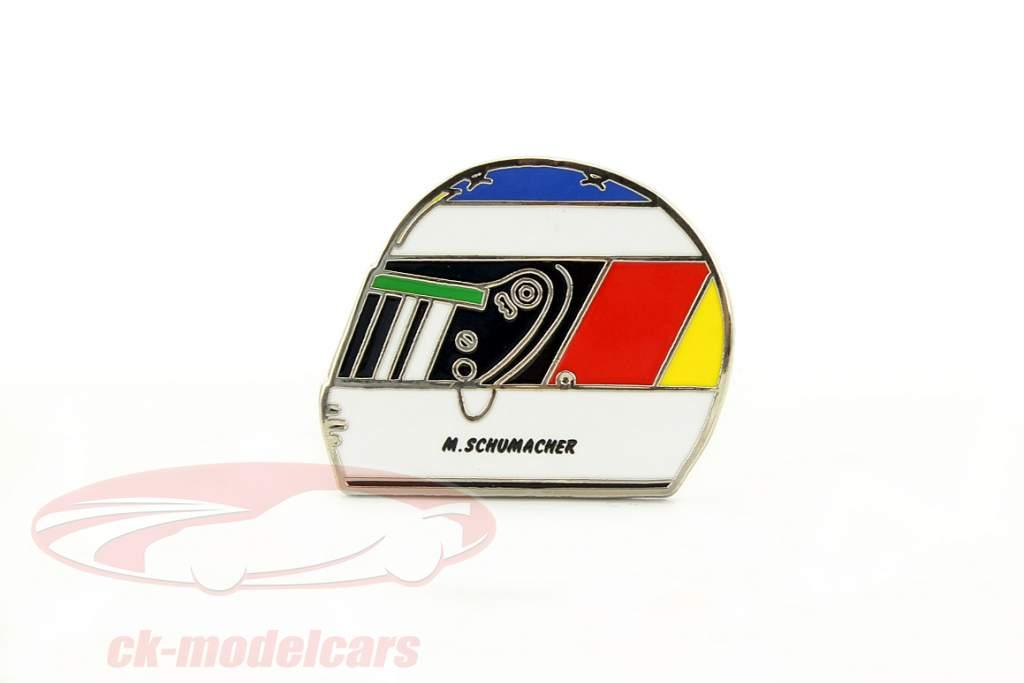Michael Schumacher helm Pin 1 overwinning spa GP formule 1 1992