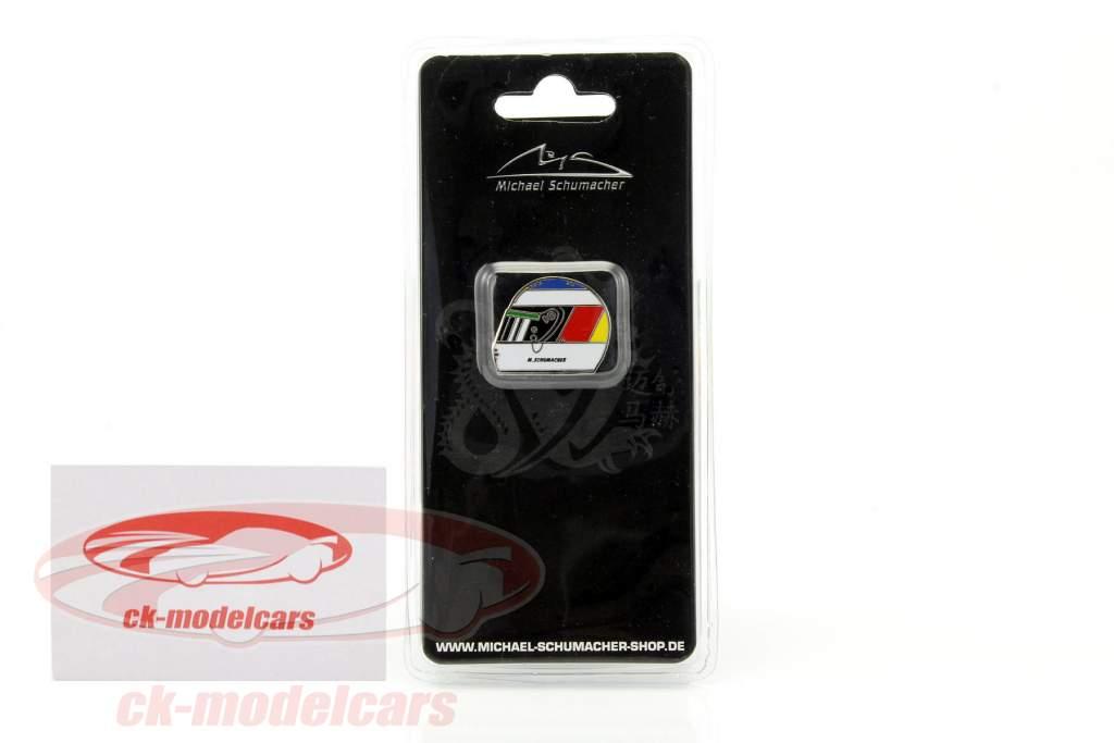 Michael Schumacher casco Pin primero victoria spa GP fórmula 1 1992